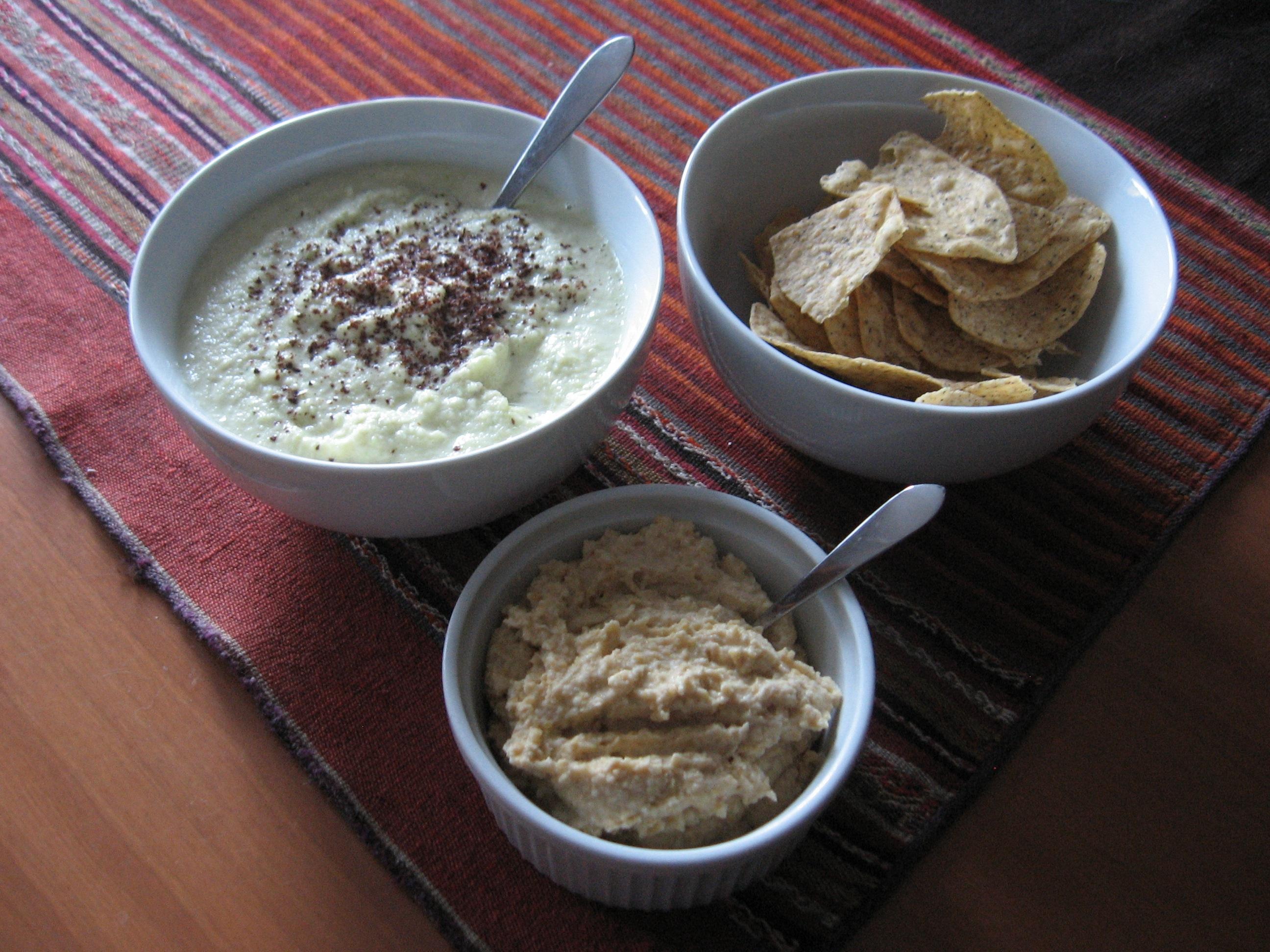 Zucchini Hummus (yes you read right…Zucchini)
