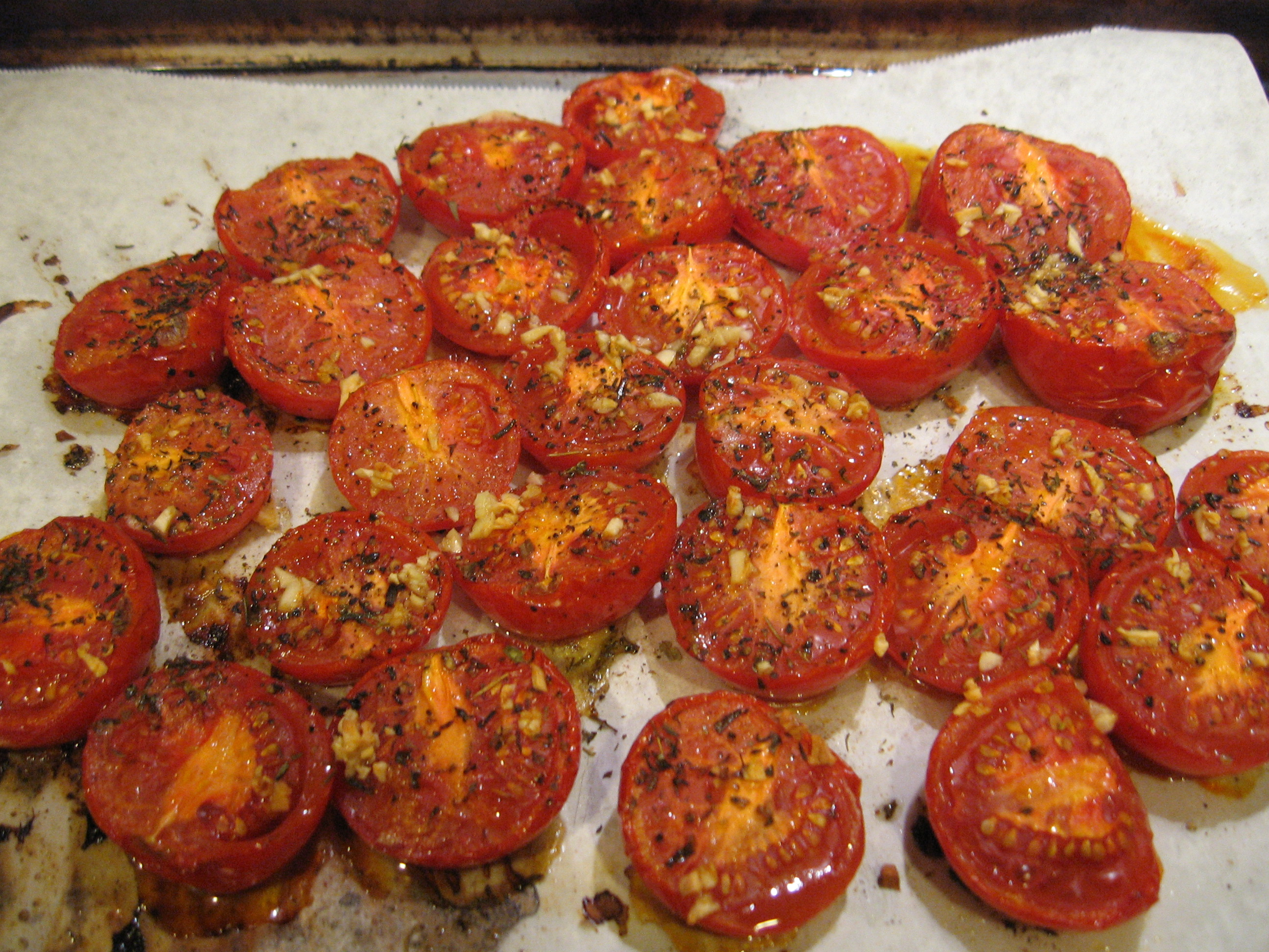 Roasted Campari Tomatoes