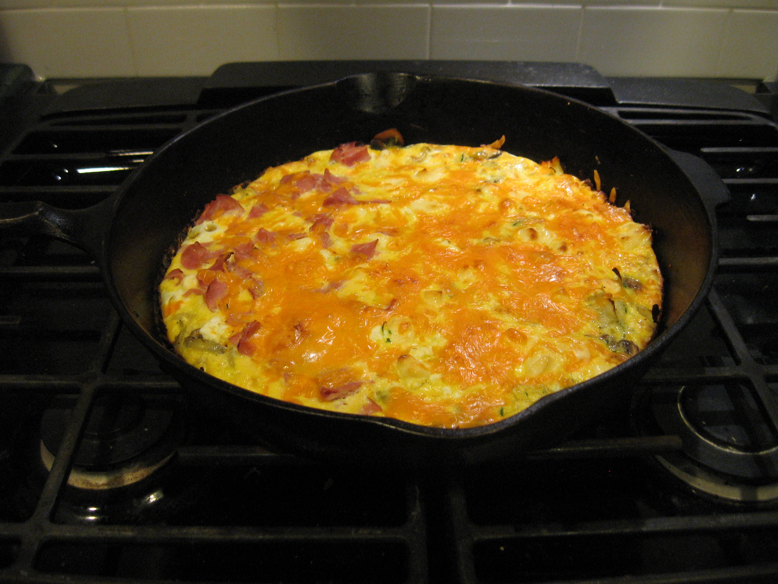Late Night Frittata Yahhhhh