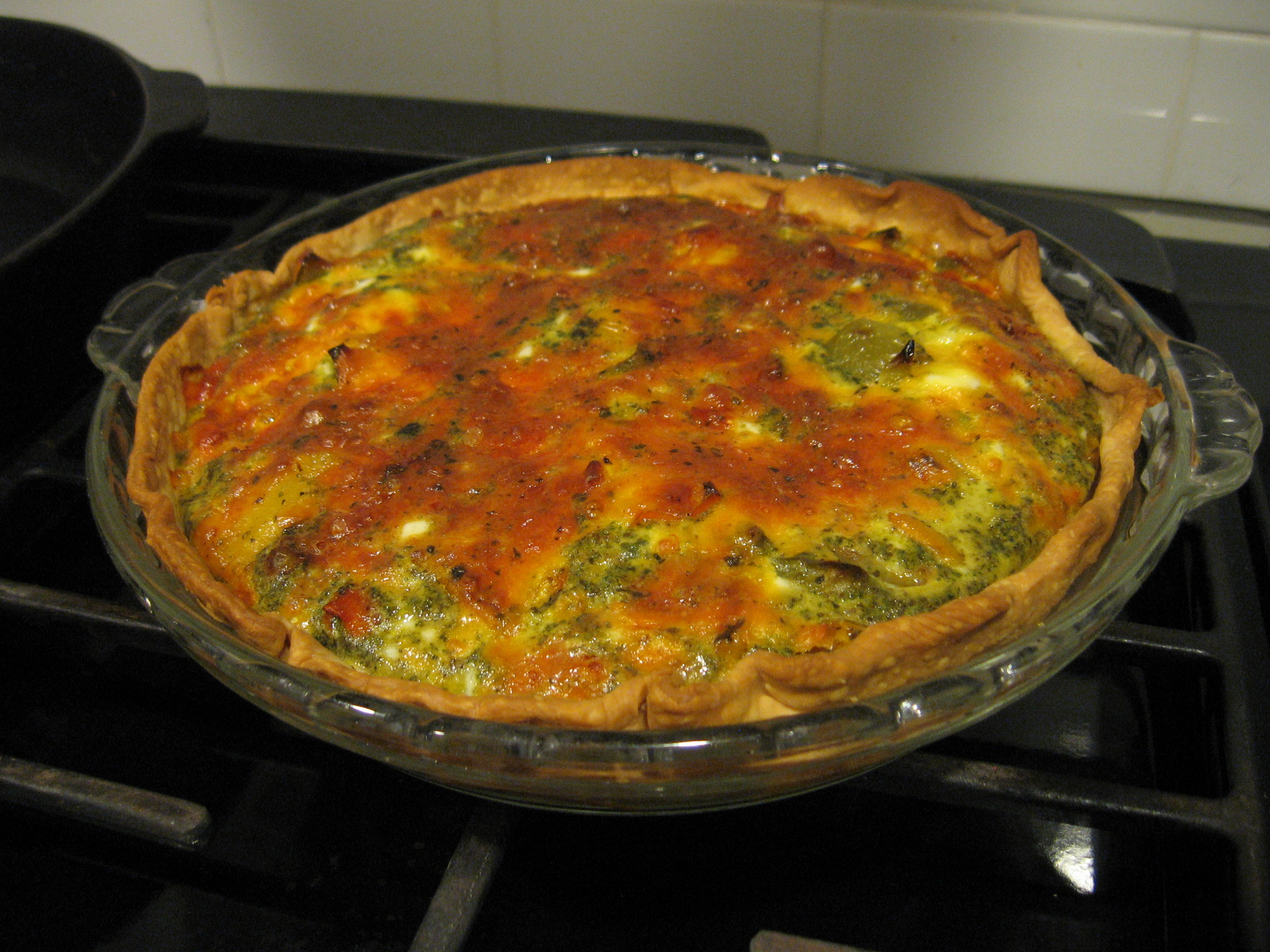 No fail (epic or otherwise) Roasted Veggie Quiche