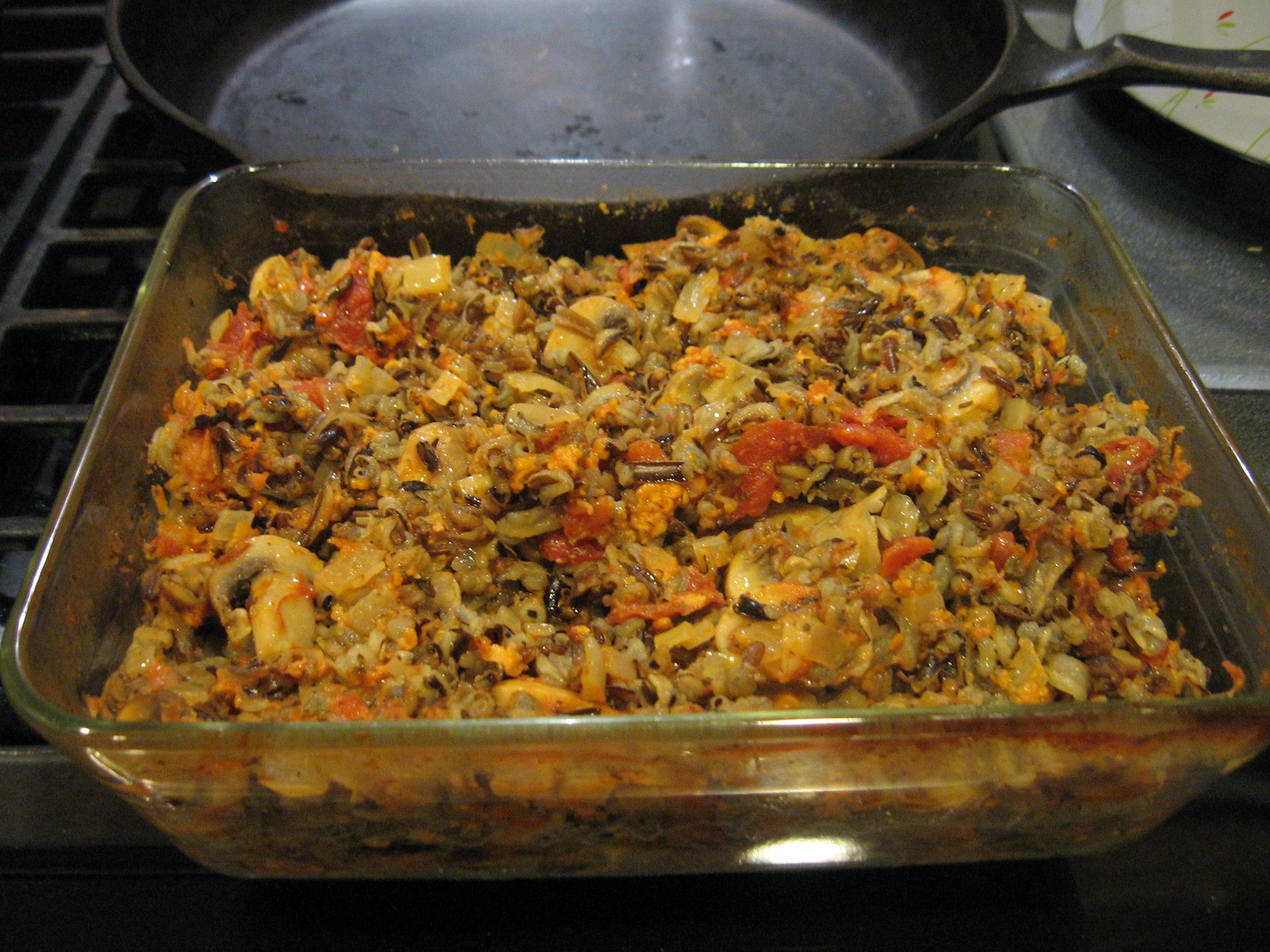Auntie Kaija's Wild Rice Casserole