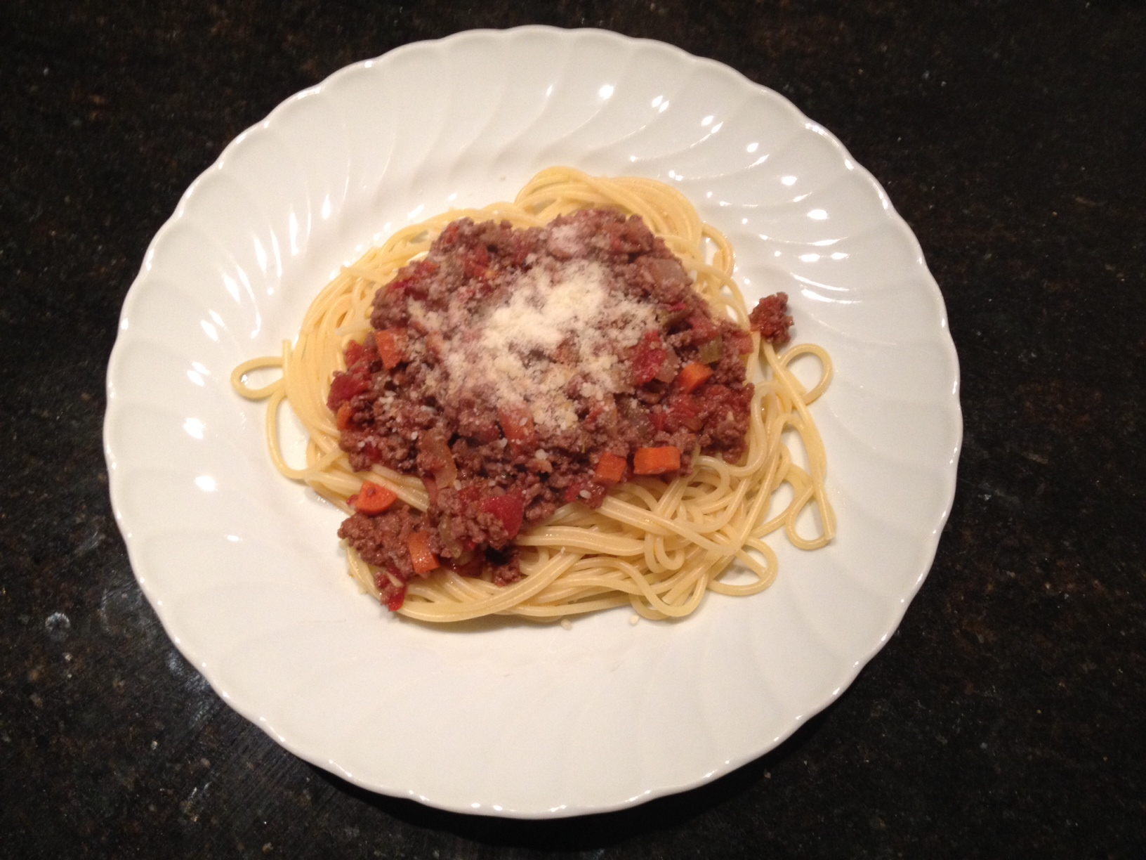 Spaghetti Bolognese…Italian for Comfort Food