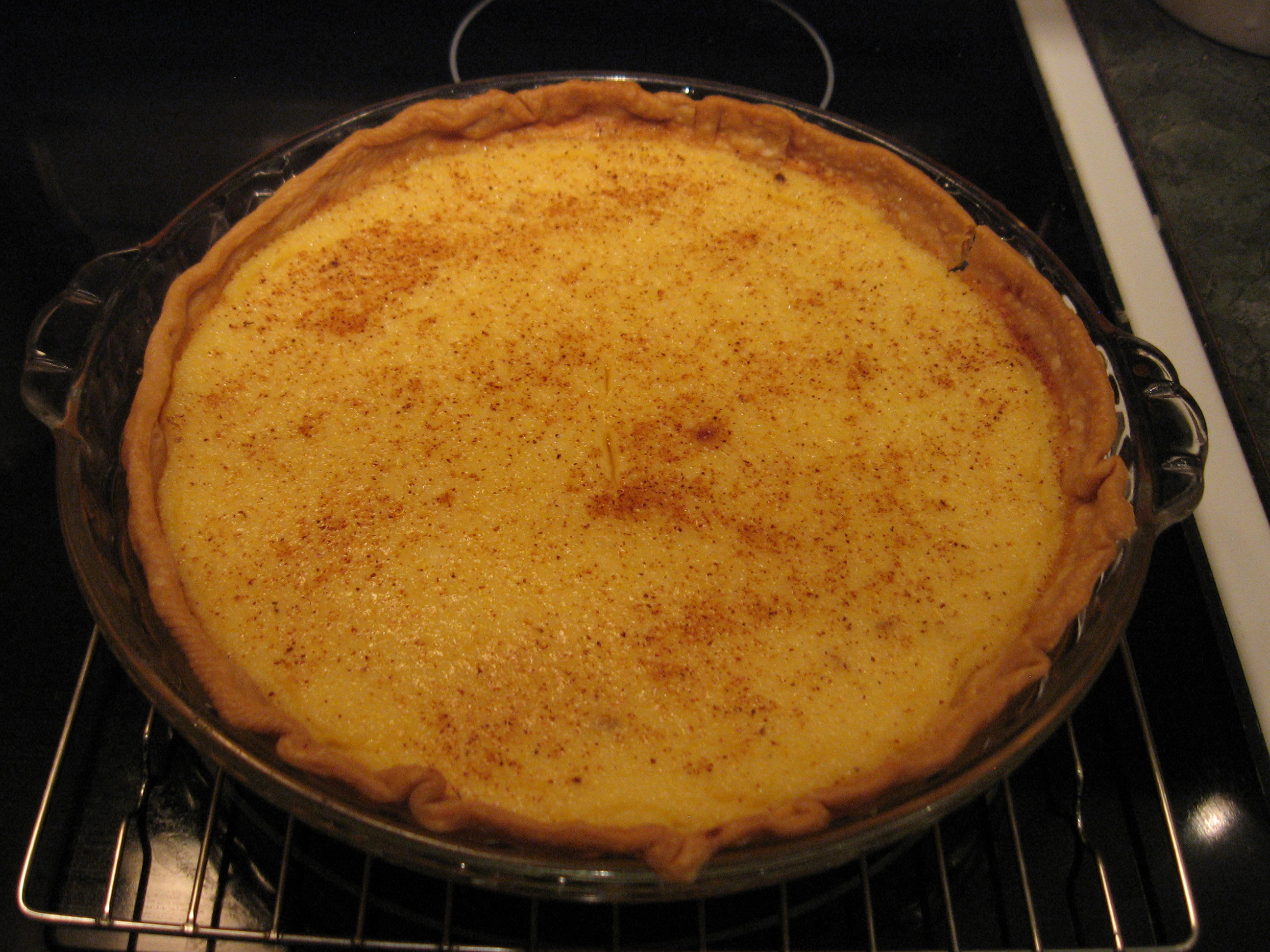 Buttermilk Lemon Pie