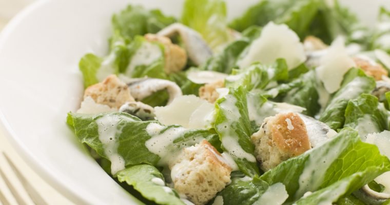 Auntie Leila's Ceasar Salad Dressing…All Hail the Queen of Finland
