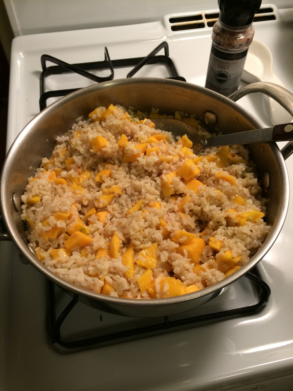 Mango Brown Rice