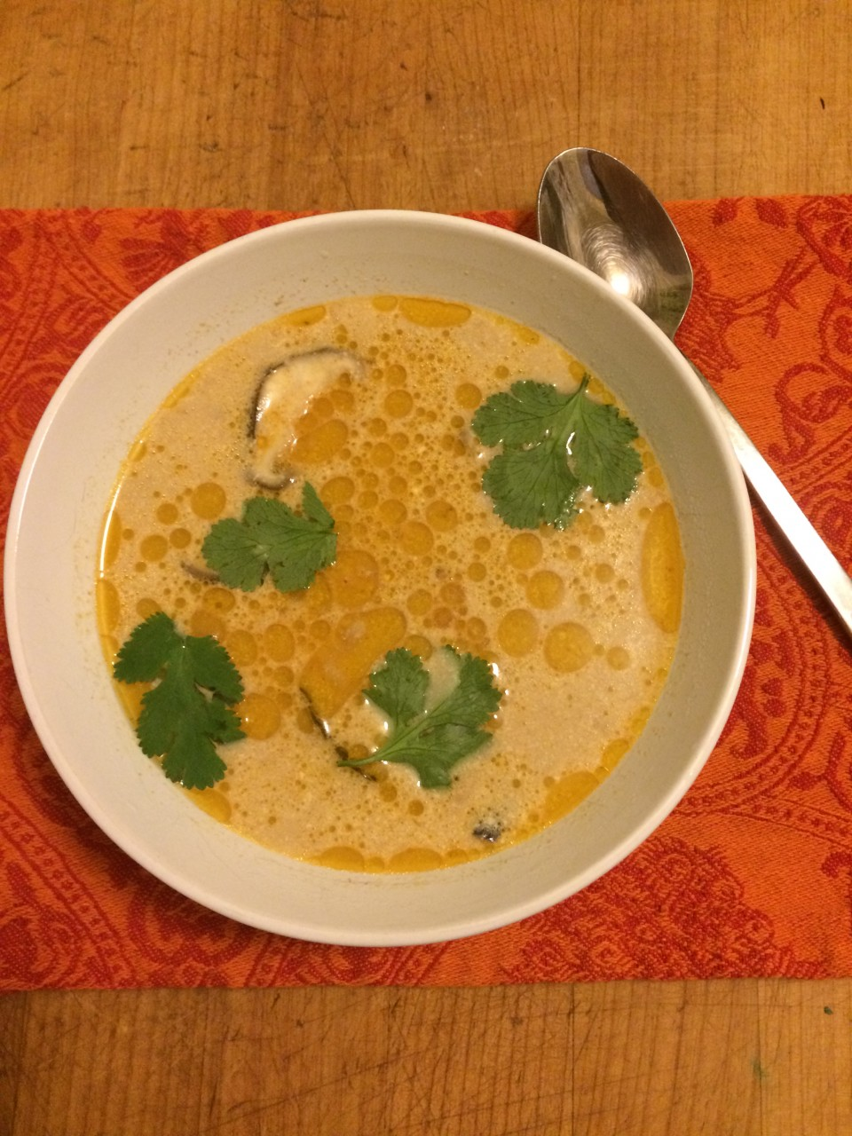 Tom Kha Gai in the Slow Cooker