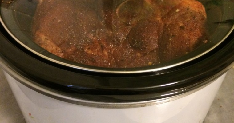 Carolina Style Pulled Pork in the Slow Cooker