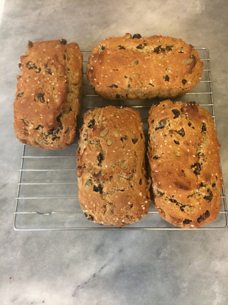 Gluten-free, Dairy-free Rosemary, Fig and Pecan Crackers