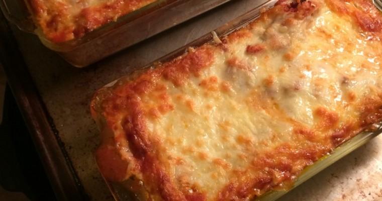 Gluten-free Lasagna (Italissima test-drive)