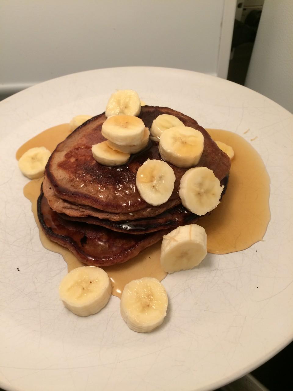 Gluten-free, Dairy-free Flapjacks aka Vegan Pancakes