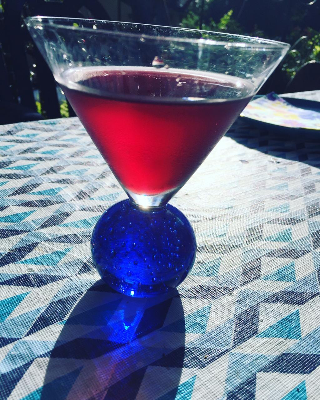 The Cass-tini: the Pomegranate Martini to Celebrate Special Birthdays
