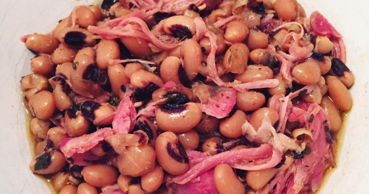 Crock Pot Black Eyed Peas with Smoked Ham Hocks