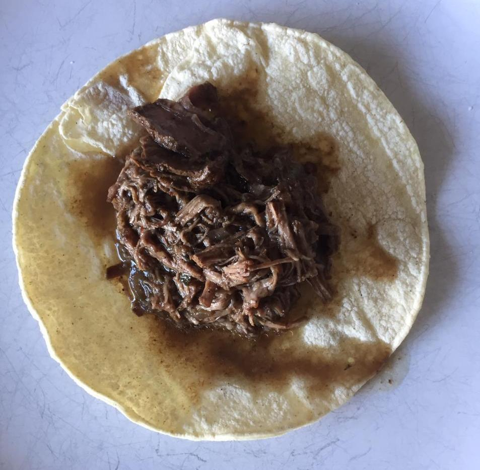 Beef Barbacoa in the Slow Cooker