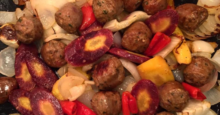 Moroccan Lamb Sausage and Fennel
