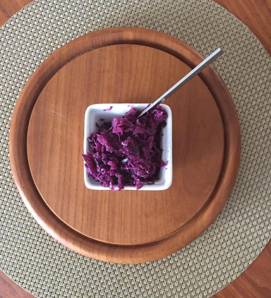 German Red Cabbage and Apple