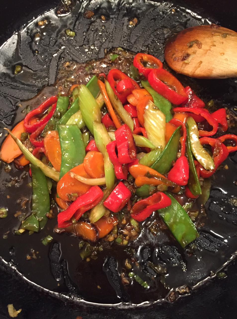 Sweet 'n Spicy Stir Fry Sauce