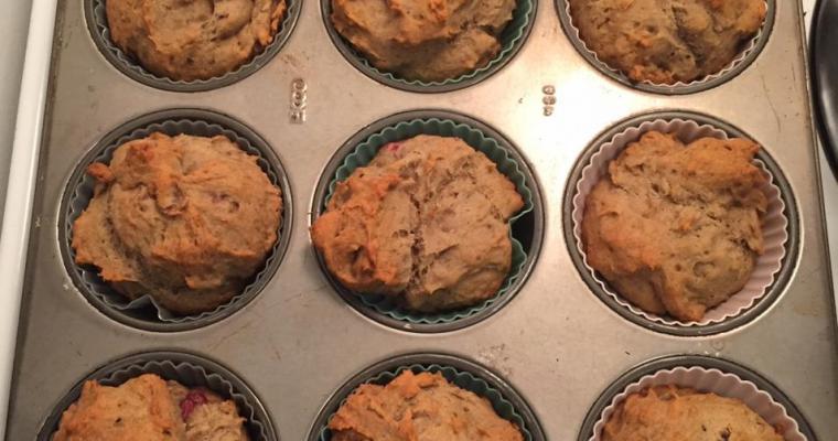 Gluten-Free Vegan Banana Muffins
