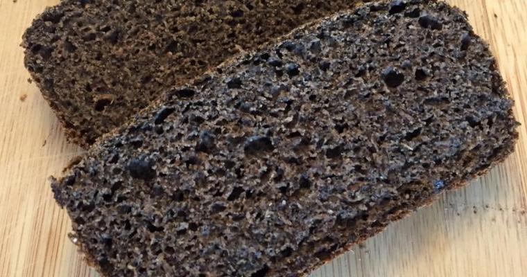 Gluten-free, Egg-free Buckwheat Bread