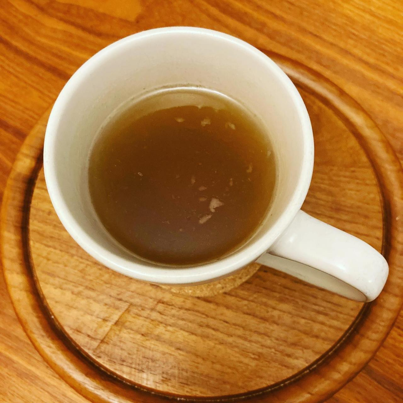 Chicken Bone Broth with Lemongrass and Ginger