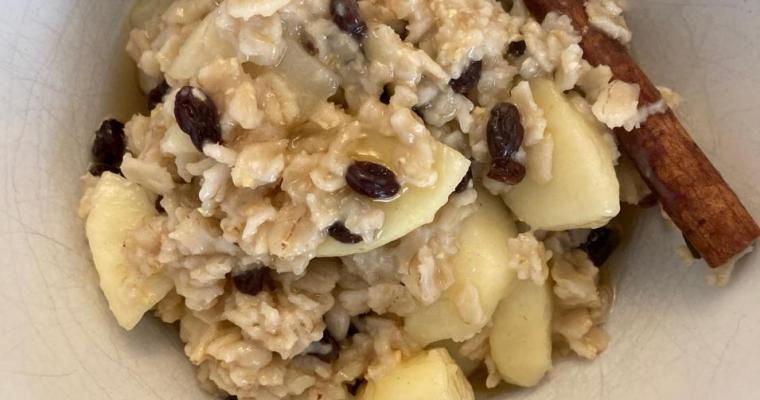 Comfort Food Oatmeal