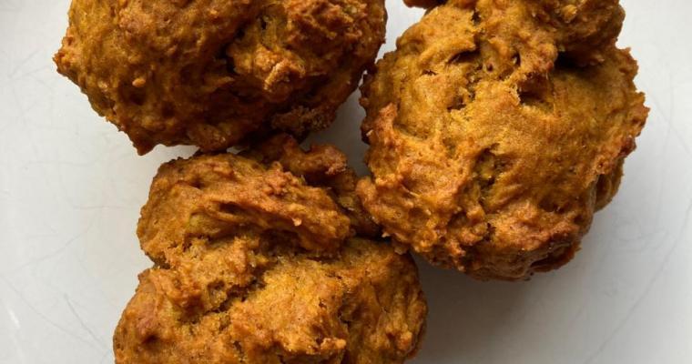 Pumpkin Chai Spice Muffins